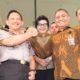 Ketua KPK Agus Rahardjo dan Kapolri Prof Tito Karnavian. Foto: Hafidz Mubarak/via Antara