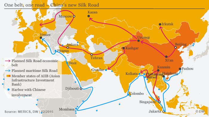 Jalur Sutera maritim abad 21 China/Foto Istimewa/Nusantaranews