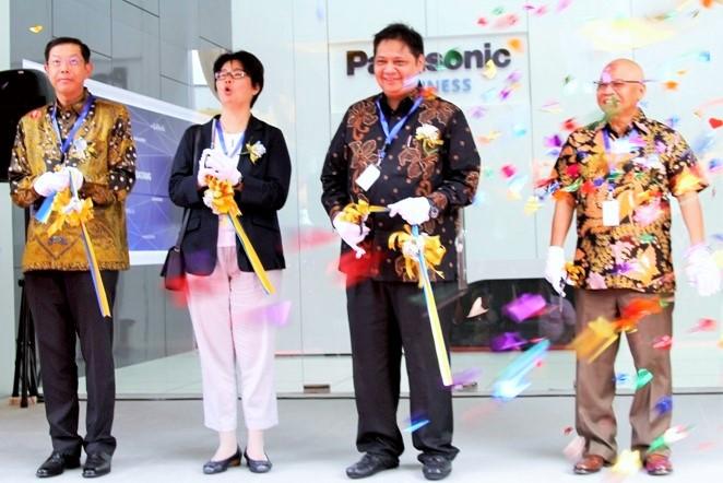 peresmian Panasonic Solution & Innovation Center di Jakarta, Senin (26/9)/Foto: Dok. Kemenperin