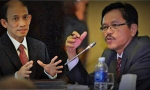 Archandra Tahat dan Anggota Komisi VII DPR RI, Ramson Siagian/Ilustrasi nusantaranews