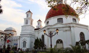 Bangunan Kota Lama Semarang Bergaya Eropa Abad 17