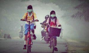 Bencana Kabut Asap/Foto nusantaranews via sinarharapan