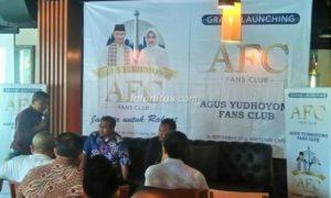 Deklarasi Agus Fans Club/Foto Ahmad