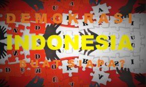 Demokrasi Indonesia Buat Siapa/Ilustrasi nusantaranews
