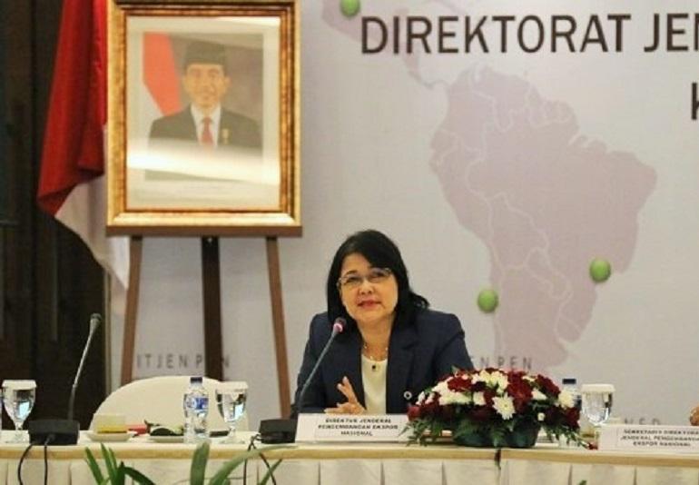 Direktur Jenderal Pengembangan Ekspor Nasional (Dirjen PEN) Kementerian Perdagangan (Kemendag), Arlinda,/Foto Istimewa