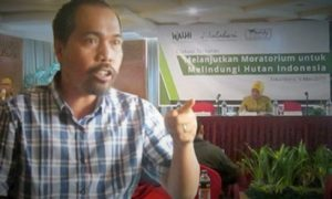 Direktur Walhi Riau Riko Kurniawan/Foto nusantaranews (Istimewa)