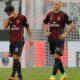 Ekspresi Kekalahan Para Pemain Milan/Foto Istimewa
