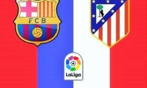 FC Barcelona VS Atletico Madrid/Poster Istimewa