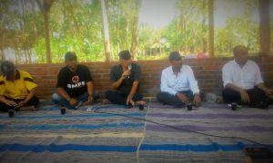 Anggota Fraksi PKB DPR RI, Ibnu Multazam saat dialog dengan petani di Desa Kupuk, Kecamatan Bungkal, Ponorogo, Jatim/Foto nusantaranews/Muh