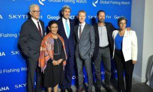 Menteri Susi Foto Bersama usai Peluncuran Global Fishing Watch/Foto Istimewa