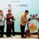 LUhut B Pandjaitan tabuh Gong acara The 15th World Renewable Energy Congres (WREC) 2016/Foto Andika
