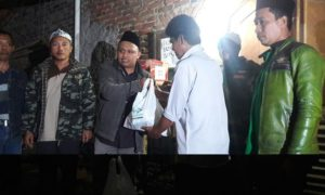 NU Care - Lazisnu Salurkan Bantuan untuk Korban Banjir Garut/Foto nusantaranews