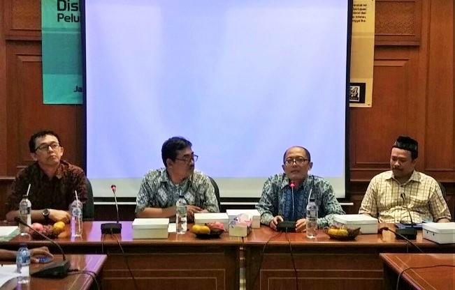 Konferensi Pers terkai Kompetisi Esai dan Video di Gedung PBNU/Foto Ucok/nusnataranews