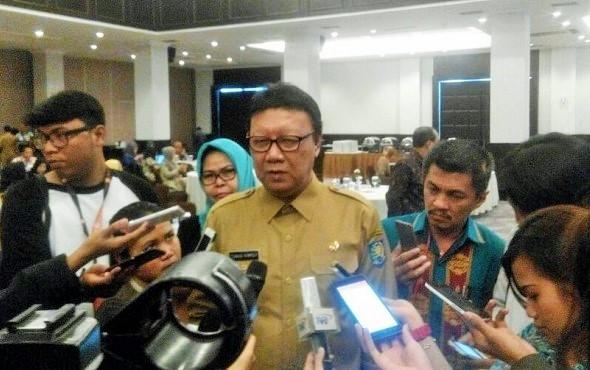 Menteri Dalam Negeri (Mendagri) Tjahjo Kumolo. (Foto: Fadilah/Nusantaranews)