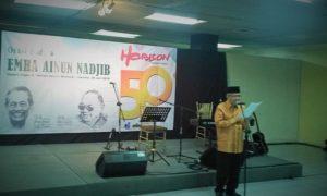 50 Tahun Majalah Sastra Horison/Foto nusantaranews/Selendang