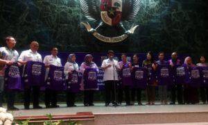 Peresmian pasukan ungu untuk mewujudkan Ibukota ramah dimensia dan lansia/Foto Dipa Mulya/ALZI