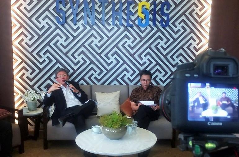 """Diskusi dengan topik """"Potensi Dana Repatriasi Tax Amnesty di Ranah Properti"""" di Synthesis Square/Foto Andika"""