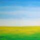 Jiwa yang lapang ((2016), 117cm x 135cm/Lukisan Heno Airlangga/Istimewa