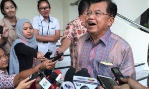 Jusuf Kalla Jenguk Irman Gusman di Rutan KPK/Foto: Via CNN