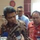 Ketua KPPU Syarkawi Rauf beserta jajarannya/ Foto Deni/ NUSANTARANEWS.CO
