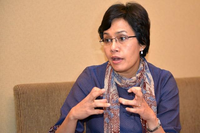 Menteri Keuangan RI, Sri Mulyani Indrawati. (Foto: Dwiandharddi)