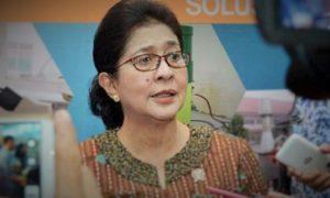 Menteri Kesehatan RI, Nila Farid Moeloek/Foto nusantaranews (istimewa)