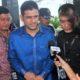 Nazaruddin Sambangi KPK/Foto via tribunnews