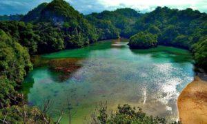 Pulau Sempu, Wisata Malang/Foto via sahabatpetualang