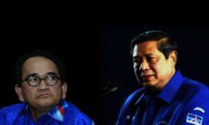 Ruhut Sitompul vs SBY/Ilustrasi Istimewa