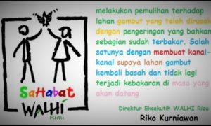 Sahabat Walhi Riau/Ilustrasi nusantaranews