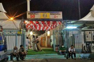 Salah satu Area Tenda tempat tinggal Jamaah Haji Indonesia di Mina/Foto dok. kemenag