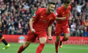 Selebrasi, Adam Lallana Suksesor Kemenangan Liverpool/Foto Istimewa