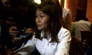 Wianda Pusponegoro di Tesate Jakarta/Foto Andika/Nusantaranews