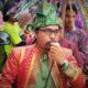 Direktur Eksekutif WALHI Riau Riko Kurniawan saat orasi/Foto nusantaranews (Istimewa)