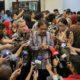 Menteri ATR/Kepala BPN Sofyan A. Djalil usai Konferensi Pers 2 tahun pemerintahan Jokowi-JK di Kantor Staf Presiden, Jakarta, Jumat (21/10)/Foto: Dok. Humas Kementerian ATR/BPN