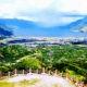 Keindahan Aceh Tengah dari puncak Pantan Terong.