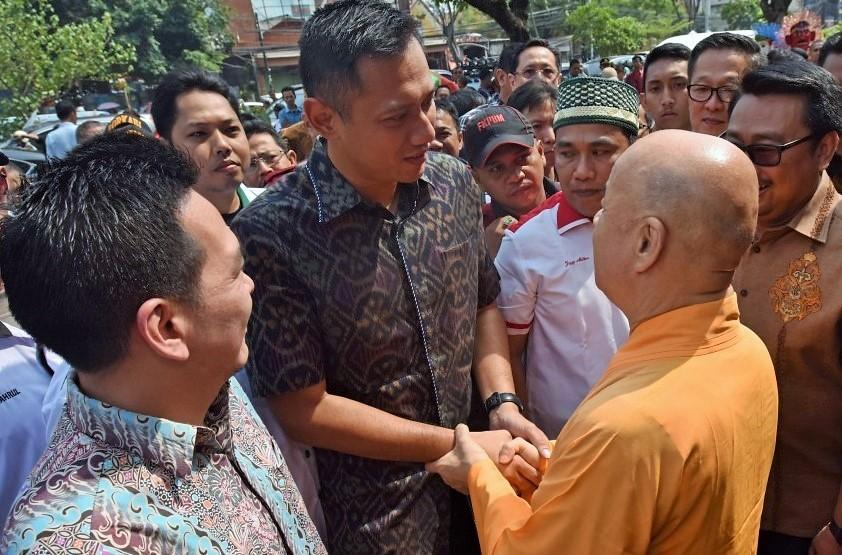 Agus Harimurti Yudhoyono Kunjungi Komunitas Tionghoa Jakarta/Foto: via Metro TV