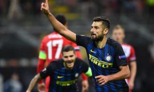 Candreva Beri Kemenangan Perdana Inter Milan dalam Macth day Europa League gru K