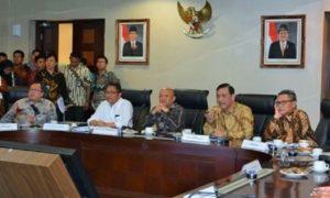 Menkominfo Rudiantara dalam Press Briefing Dua Tahun Kerja Nyata Pemerintahan Jokowi-JK/Foto: DOk. Kominfo
