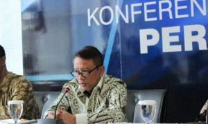 Direktur Jenderal Pajak Ken Dwijugiasteadi di kantor DJP, Jakarta, Kamis (27/10/2016)/Foto Andika / Nusantaranews