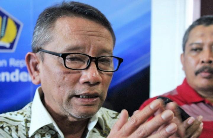 Dirjen Pajak, Ken Dwijugiasteadi saat Konpers APBN 2017 di kantor Direktorat Jenderal Pajak, Kamis (27/10. Foto: Andika/Nusantaranews