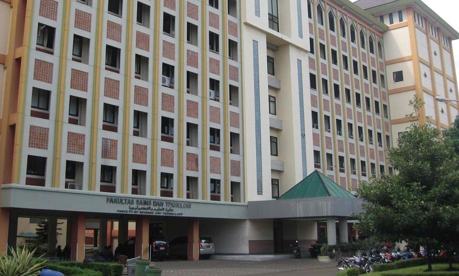 Gedung Fakultas Sains dan teknologi UIN Jakarta. Foto Ilustrasi IST