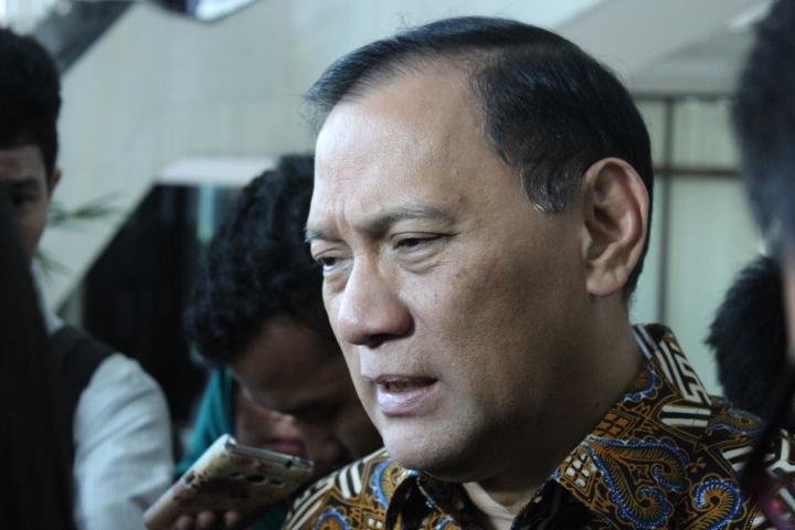 Guberbur Bank Indonesia Agus Martowardojo di gedung Djuanda I Kementerian Keuangan, Jakarta Pusat, Senin (24/10/2016). Foto: Andika/Nusantaranews