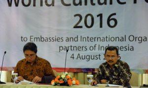 Hilmar Farid saat Memimpin Sosialisasi WCF 2016, 4 Agustus 2016/Foto: Dok. Kemendikbud