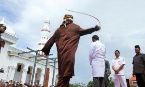 Setahun Qanun Jinayat, ICJR Minta Pemerintah Akhiri Hukum Cambuk di Aceh/Foto: Berita Plat Merah