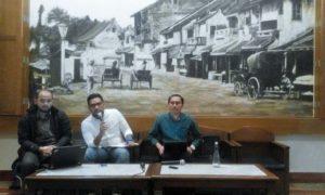 Diskusi Publik di Bakoel Koffie Cikini, Kamis (6/10)/Foto Fadilah/Nusantaranews