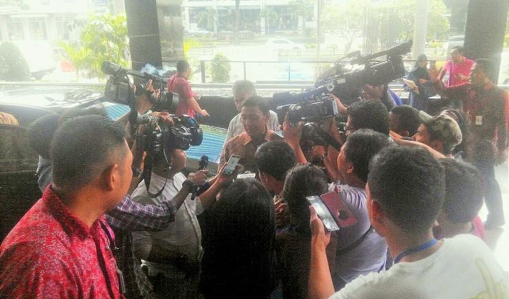 Lapor LHKPN, Menko Polhukam Wiranto Sambangi KPK/Foto Fadilah / Nusantaranews