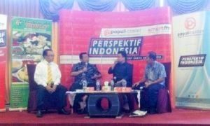 diskusi publik bertema 'Pemekaran Lagi?', di Kawasan Menteng, Jakarta Pusat, Sabtu, (8/10)/Foto Fadilah/ Nusantaranews