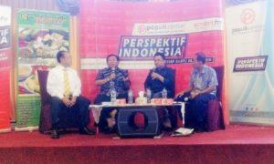 Ahmad Muqowam dalam diskusi publik bertema 'Pemekaran Lagi?' di Kawasan Menteng, Jakarta Pusat, Sabtu, (8/10)/Foto Fadilah/Nusantaranews