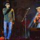 Menaker Duet dengan Tantowi di sela-sela meresmikan pembukaan Simfest ke-7 di Sawahlunto Sumatera Barat, Jumat (7/10) malam/Foto: NFD